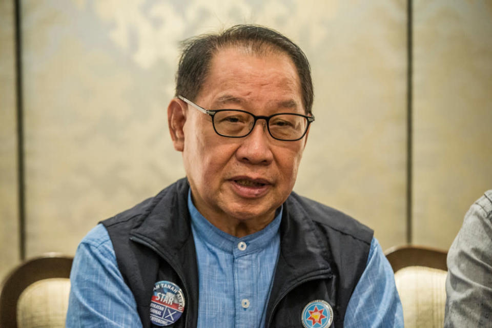 Kitingan said the state government would not hesitate to give troublemakers the boot. — Picture by Firdaus Latif