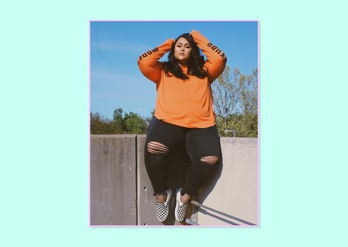 """<p><strong>Natalie Johnson, <a rel=""""nofollow"""" href=""""http://www.shamelesscreature.com/"""">Shameless Creature</a></strong><br /> I have recently fallen in love with jeans from Charlotte Russe. I am a sucker for denim with a little stretch and give. In addition to comfort, these jeans are so trendy! I have been obsessing over the step-hem and frayed style for a while, and it's been so nice that the trend is now available for women my size. These jeans are my current obsession for a number of reasons. Again, comfort is crucial for me. Considering the traveling/flying aspect of my lifestyle, it is so important that I am dressed appropriately. Versatility is also something that I look for in my wardrobe. I need a pair of jeans that will compliment different settings. I believe that denim is essential in every closet but denim that makes a statement is my favorite.<br />Plus-Size Refuge Skin Tight Legging Jeans, $37, <a rel=""""nofollow"""" href=""""http://www.charlotterusse.com/plus-size-refuge-skin-tight-legging-jeans/302150153.html?dwvar_302150153_color=001&cgid=plus-size-jeans#start=6"""">Charlotte Russe</a> </p>"""