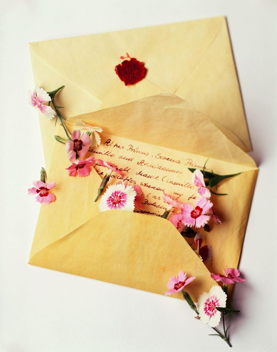 "<p>What better way to profess your undying love for each other than with the written word? Go all out and buy fancy stationery and even a wax seal. It's the perfect gesture for couples who are old souls at heart.</p><p><a class=""link rapid-noclick-resp"" href=""https://go.redirectingat.com?id=74968X1596630&url=https%3A%2F%2Fwww.walmart.com%2Fsearch%2F%3Fquery%3Dstationery&sref=https%3A%2F%2Fwww.thepioneerwoman.com%2Fholidays-celebrations%2Fg35118424%2Fthings-to-do-on-valentines-day%2F"" rel=""nofollow noopener"" target=""_blank"" data-ylk=""slk:SHOP STATIONERY KITS"">SHOP STATIONERY KITS</a></p>"