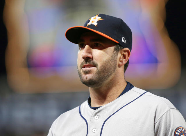 Justin Verlander heard enough from a heckler on Saturday and gave the obnoxious fan some of what she was dishing out in Chicago. (AP)