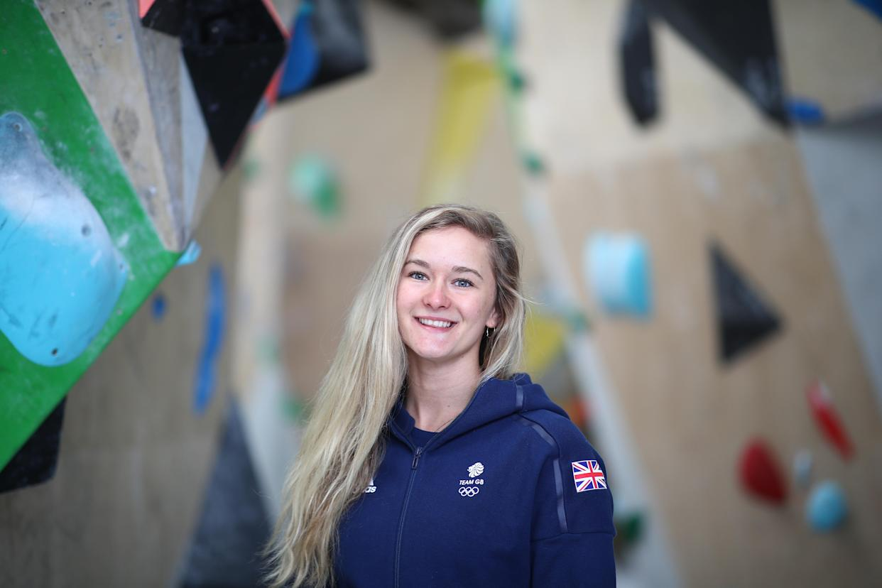 Climbing-obsessed Coxsey, 28, is working with Team GB on an innovative initiative called I Am Team GB to get the nation moving after this summer's Games