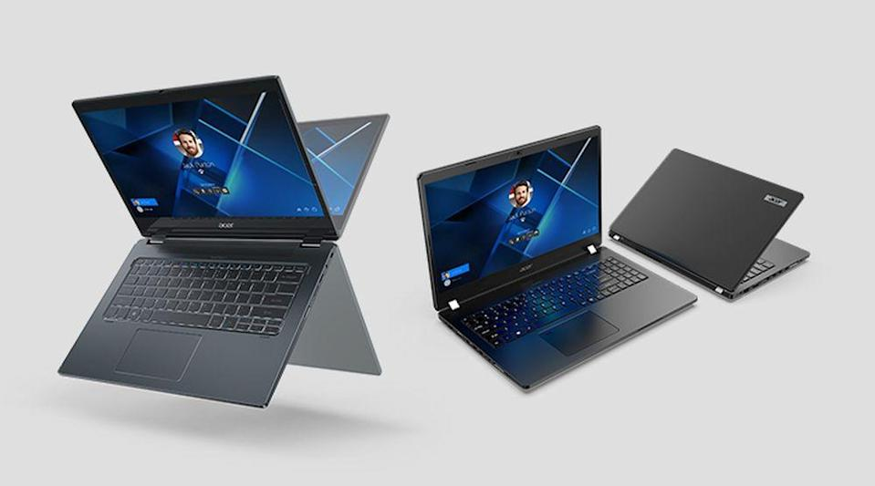 The new TravelMate offers a robust build with great specs. — Picture courtesy of Acer