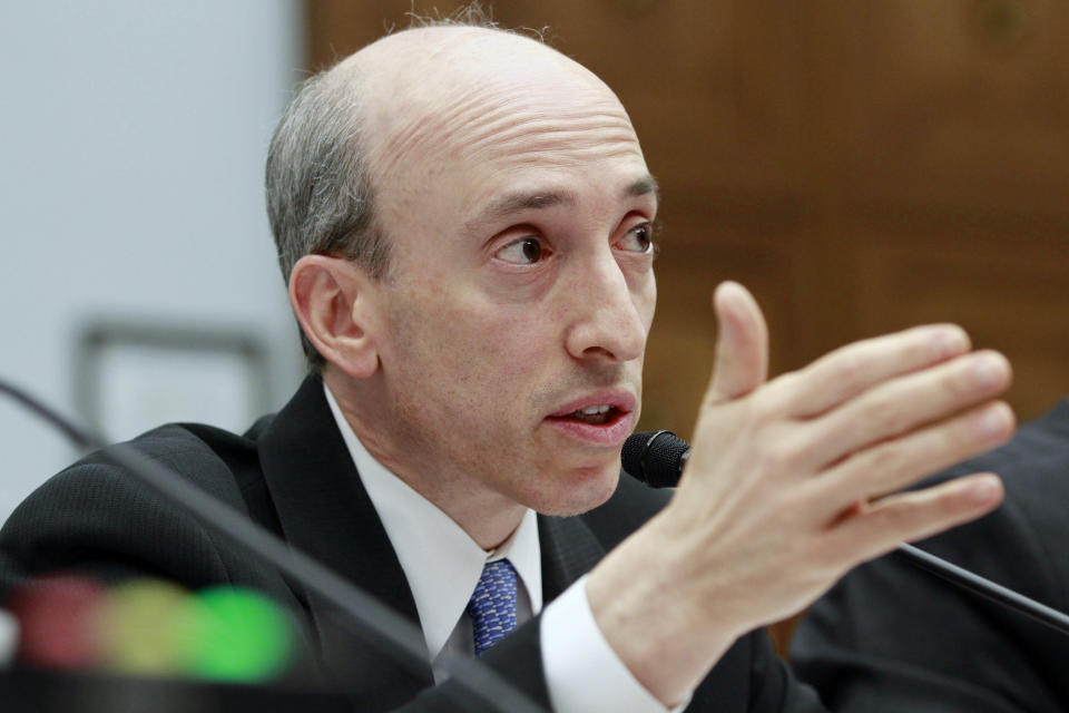 New US Securities and Exchange Commission chair Gary Gensler. Photo: Jacquelyn Martin/AP