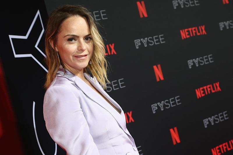 LOS ANGELES, CA - MAY 06: Taryn Manning attends the Netflix FYSEE Kick-Off Event at Netflix FYSEE At Raleigh Studios on May 6, 2018 in Los Angeles, California. (Photo by Tommaso Boddi/Getty Images)