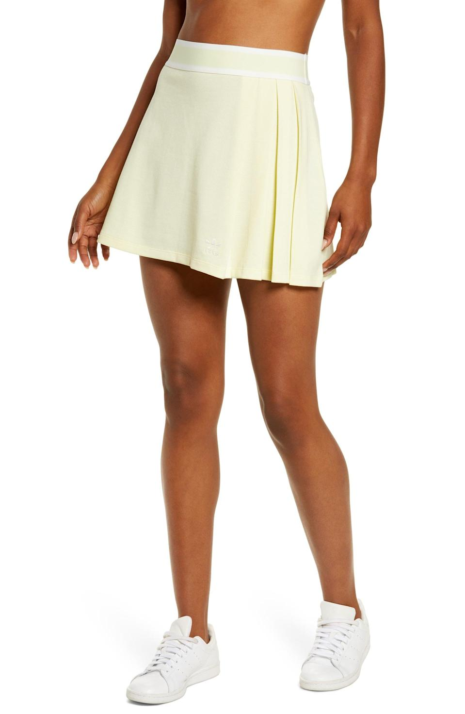 <p>This <span>Adidas Tennis Skirt</span> ($45) will look cute with your favorite white sneakers.</p>