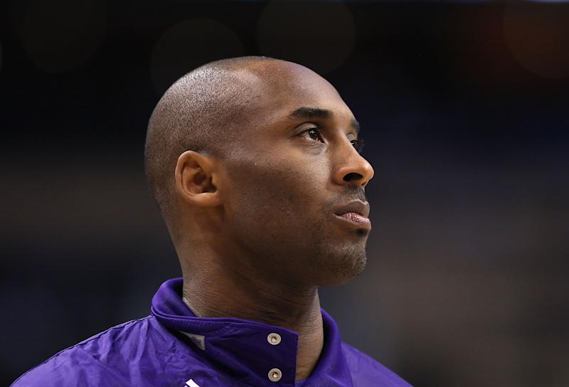 Kobe Bryant of the Los Angeles Lakers during the NBA game against the Phoenix Suns at US Airways Center on February 19, 2012 in Phoenix, Arizona. (Photo: Christian Petersen via Getty Images)