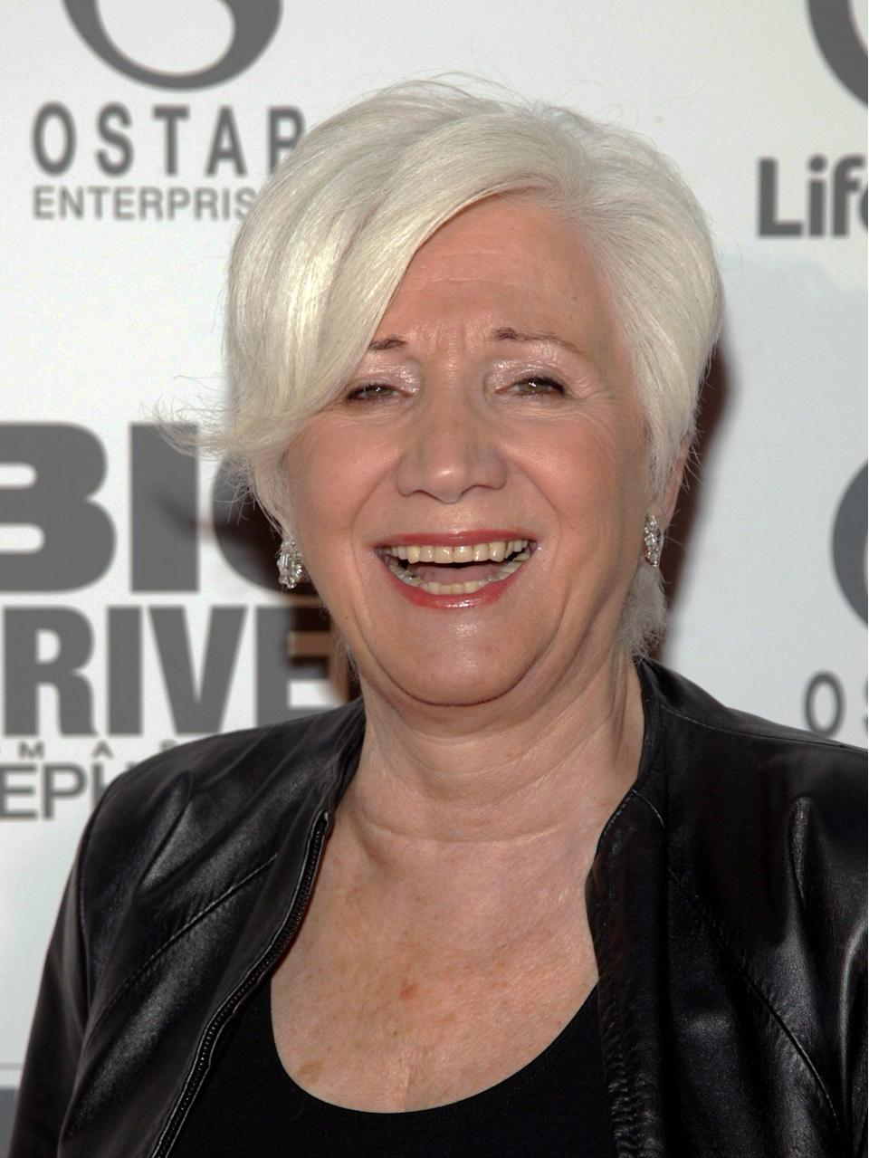 Olympia Dukakis, pictured in 2014. She has died aged 89.  (Andy Kropa /Invision/AP)