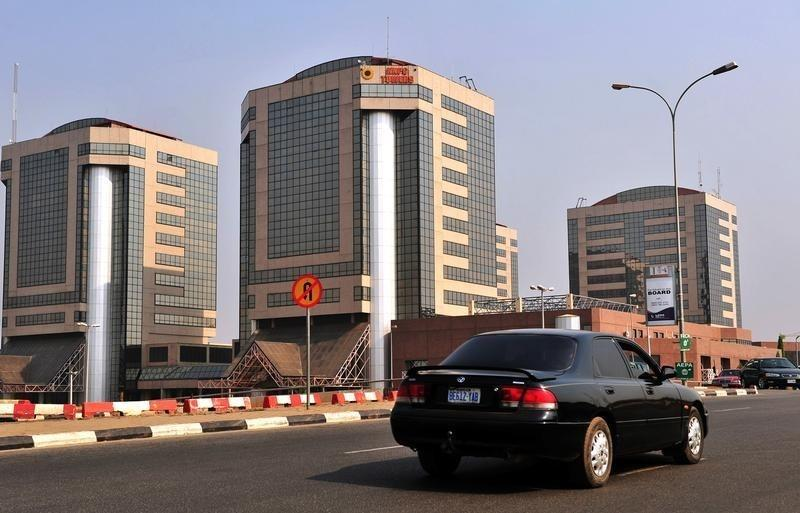 File photo of government-owned Nigerian National Petroleum Corporation in Abuja