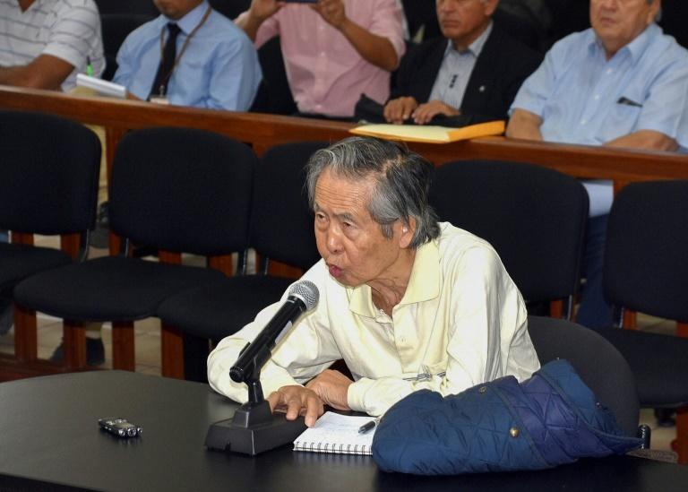 """Alberto Fujimori holds onto hope that his children will iron out their differences, describing the rupture to reporters as """"momentary"""""""