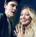 <p>Seven months after the birth of their first child, daughter Banks Violet Blair, Hilary Duff announced her engagement to American singer-songwriter Matthew Koma. <em>[Photo: Instagram]</em> </p>