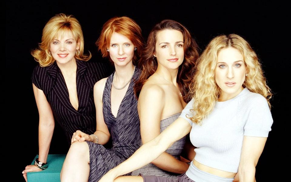 SATC's Samantha, Miranda, Charlotte and Carrie blazed a trail through 1990s New York - Channel 4