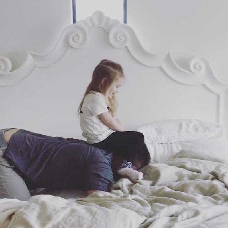 """Jensen Ackles Shares a Precious Video of Daughter Justice Learning """"Classic WWE Moves"""""""