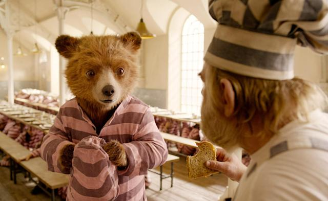 Paddington is back for more fun and marmalade in <em>Paddington 2.</em> (Photo: Warner Bros./Courtesy of Everett Collection)
