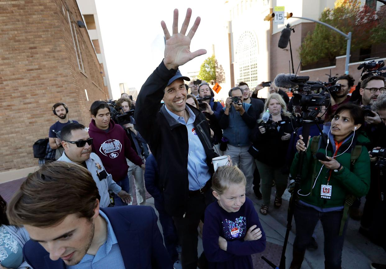 Democrat Beto O'Rourke lost his quixotic bid to unseat GOP Sen. Ted Cruz in Texas. But O'Rourke's run left his party in a far better position to compete in the state down the road. (Photo: ASSOCIATED PRESS)