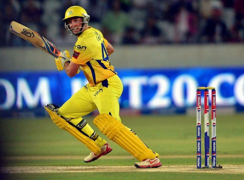 Michael Hussey set the tone for the innings