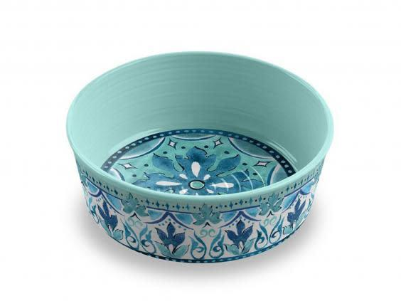This colourful bowl will make dinnertime feel like a luxury (Lords and Labradors)