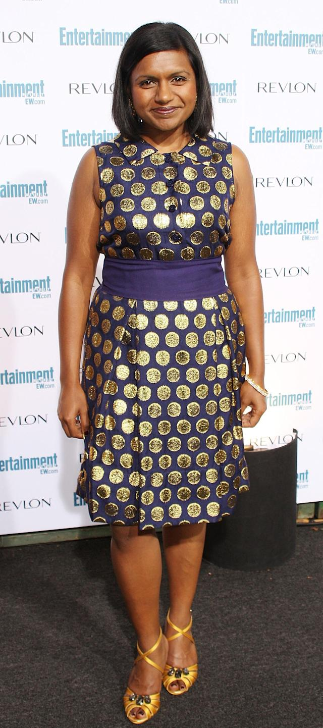 BEVERLY HILLS, CA - SEPTEMBER 20: Actress Mindy Kaling attends the Entertainment Weekly's Sixth Annual Pre-Emmy Celebration party honoring the 2008 Emmy nominees at The Beverly Hills Post Office on September 20, 2008 in Beverly Hills, California. (Photo by Frederick M. Brown/Getty Images)