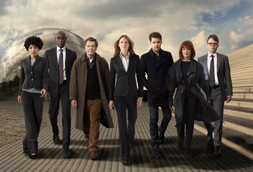 "<strong>7. ""<a href=""http://tv.yahoo.com/fringe/show/42960"">Fringe</a>""</strong><br><br> This hasn't been the show's best season, but it's still better than a lot of the dull procedurals out there. And if we had to pick between this and ""<a href=""http://tv.yahoo.com/nikita/show/46555"">Nikita</a>"" (another bubble show), we'd pick ""Fringe"" every time for a million reasons, not least of which is that Pacey trumps Ted Mosby's daughter any day of the week."