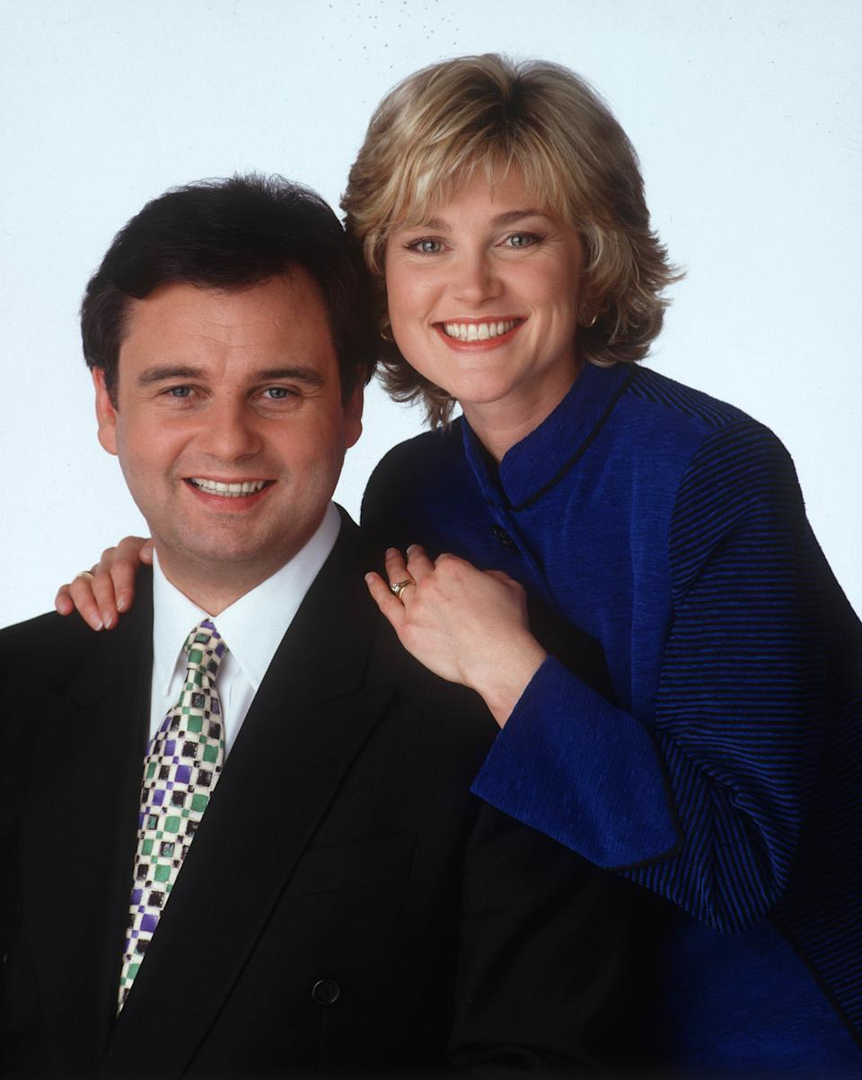 """While we struggle to imagine anyone having a bad word to say about Anthea Turner, Eamonn was not her biggest fan while they shared the 'GMTV' sofa, even branding her """"Princess Tippy Toes"""".<br /><br />Ouch.<br /><br />She was eventually sacked when he told bosses that he'd walk unless she was given the axe, but they made it up 12 years later, appearing together on 'Daybreak'.<br /><br />Anthea, as good a sport as ever, joked at the time: """"If we can do it maybe Sir Alex Ferguson and Rafa Benitez will become friends, too."""""""