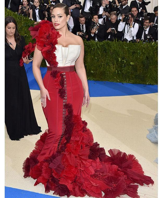 Ashley slayed the Met Gala red carpet this year. Photo: Getty