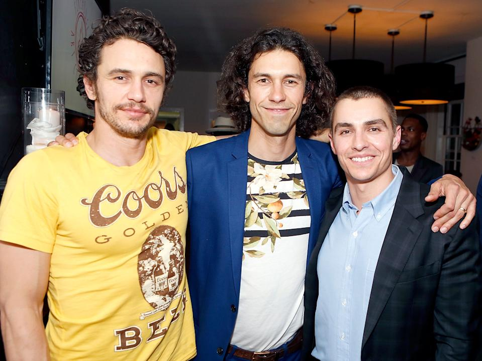 Tom Franco with brothers james and dave