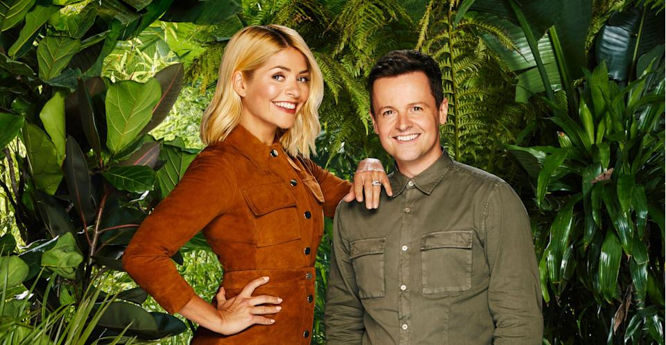 Holly Willoughby is standing in for Ant McPartlin this year (ITV)