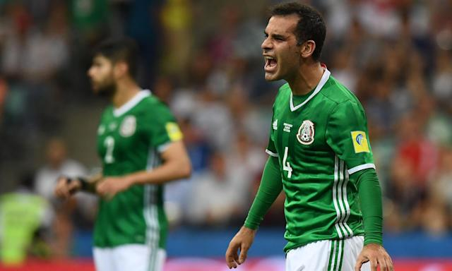 Rafael Marquez last played for Mexico at the 2017 Confederations Cup.