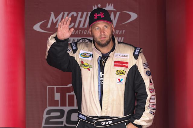 Ray Ciccarelli has raced 18 times in NASCAR's Truck Series. (Photo by Scott W. Grau/Icon Sportswire via Getty Images)