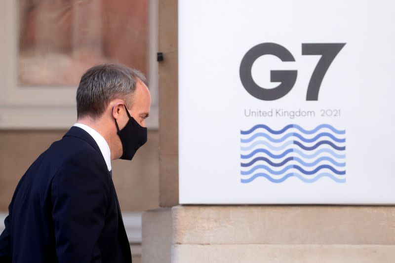 G7 foreign ministers meet in London