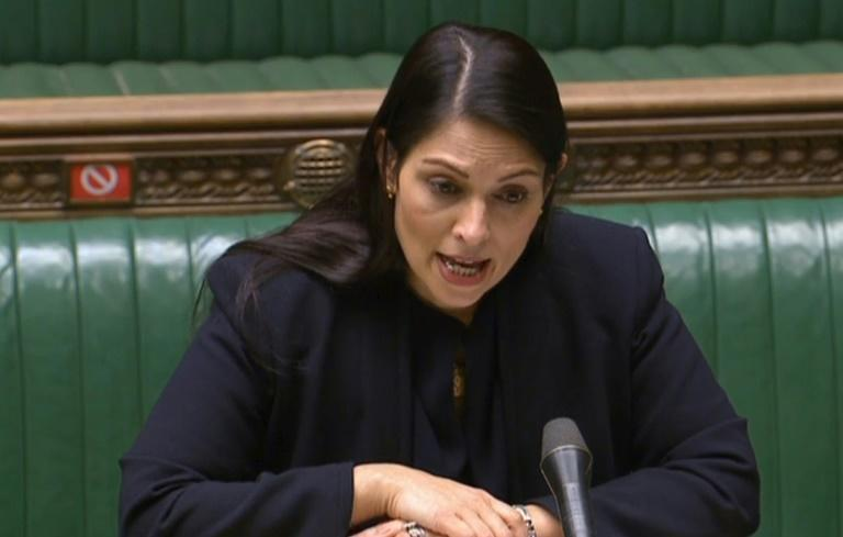"""Interior minister Priti Patel told parliament the asylum rules overhaul would be based """"on genuine need of refuge, not on the ability to pay people smugglers"""""""