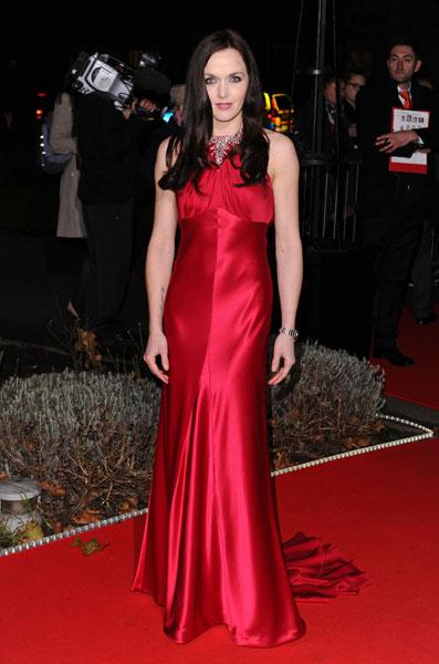 <b>Military Awards red carpet: Victoria Pendleton </b><br><br>The ex-Strictly star opted for classic red for the ceremony.<br><br>© Rex