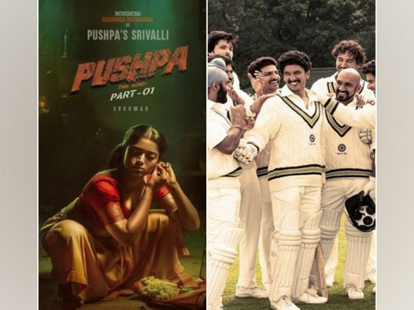 'Pushpa' and '83' (Image source: Instagram)