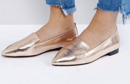 "<a href=""http://us.asos.com/asos/asos-lees-wide-fit-pointed-loafers/prd/8329679?clr=nudemetallic&SearchQuery=loafers+women&pgesize=36&pge=0&totalstyles=131&gridsize=3&gridrow=1&gridcolumn=3"" target=""_blank"">Shop them here</a>."
