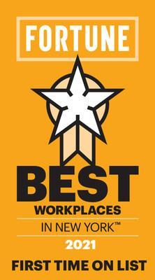 Fortune Magazine nominates The Bloc as one of the Best Workplaces™ in New York 2021