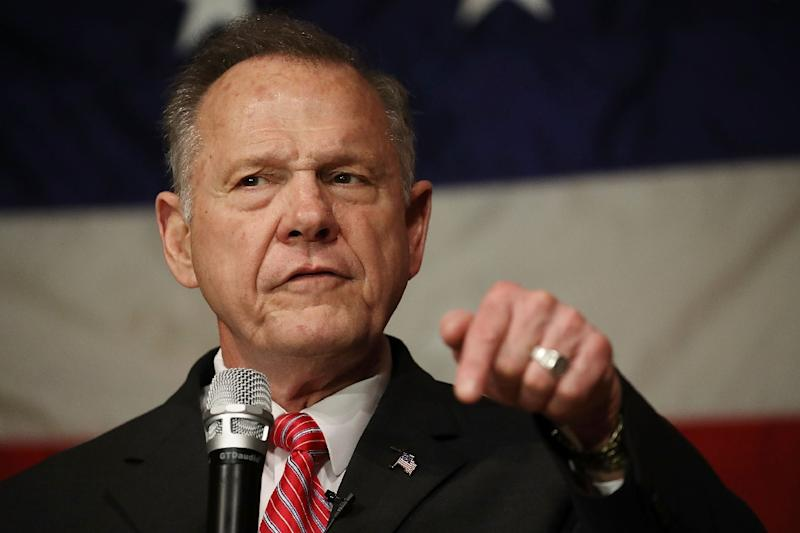 Republican candidate Roy Moore