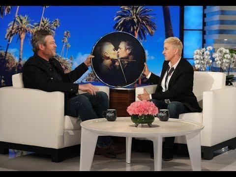 "<p>On <em>The Ellen </em>DeGeneres <em>Show</em>, the talk show host gifts the country singer a clock with his and Gwen's face on for a very special reason. Apparently, the last time she gifted the time-telling gift, it was to Jennifer Lopez, who got engaged to Alex Rodriguez shortly after. </p><p>""So you're saying there's a chance she's going to ask me to marry her?"" Shelton joked when he got the gift. ""You see how I flipped it around and put it on her?""</p><p><a href=""https://www.youtube.com/watch?v=YgjXlA6TnJw&feature=emb_title"" rel=""nofollow noopener"" target=""_blank"" data-ylk=""slk:See the original post on Youtube"" class=""link rapid-noclick-resp"">See the original post on Youtube</a></p>"
