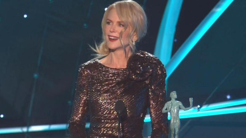 Did Nicole Kidman Put Others at Risk by Showing Up to SAG Awards While Battling the Flu?