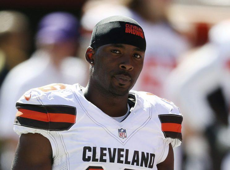 Andrew Hawkins graduated with a master's degree from Columbia University. (AP)