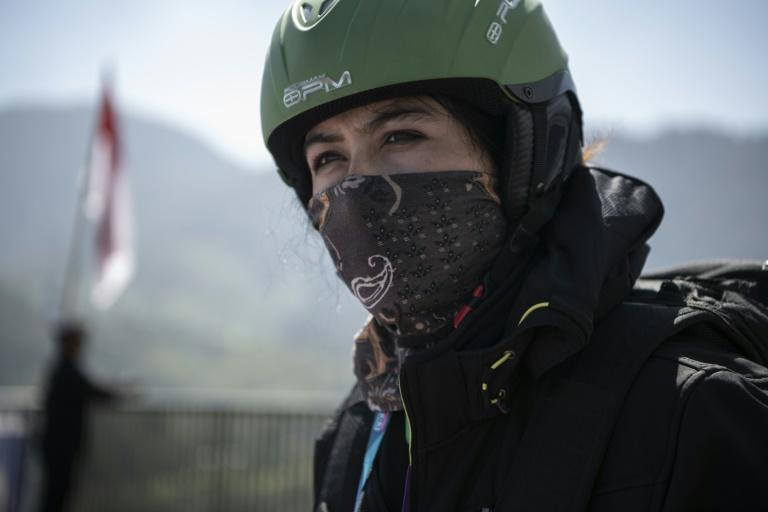Lida Hozoori is representing Afghanistan as paragliding makes its Asian Games debut