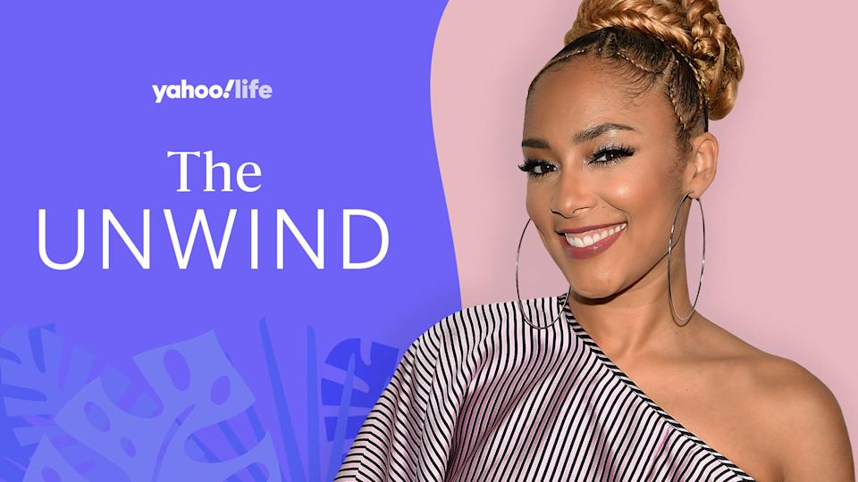Amanda Seales opens up about self-care, speaking out against injustice and her new clothing line. (Photo: Getty Images; designed by Quinn Lemmers)