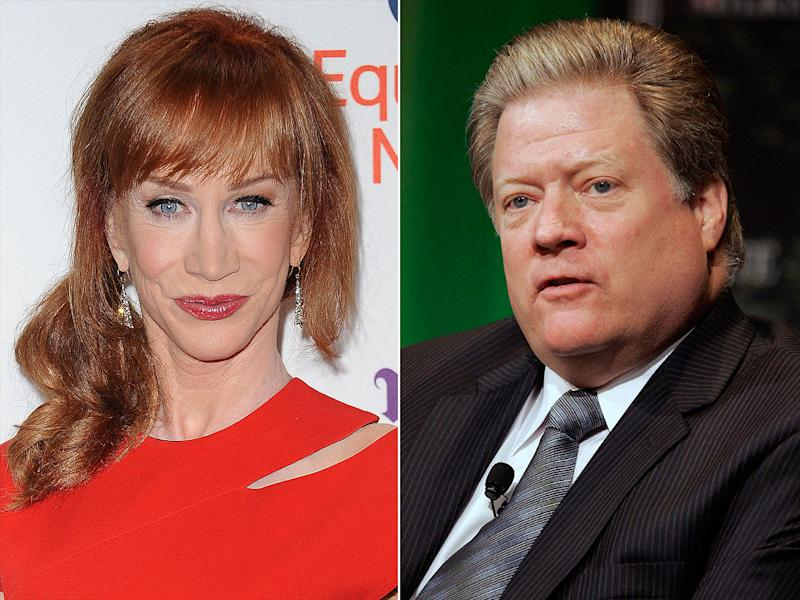 Kathy Griffin's CEO Neighbor Files for His Own Restraining Order Against Her