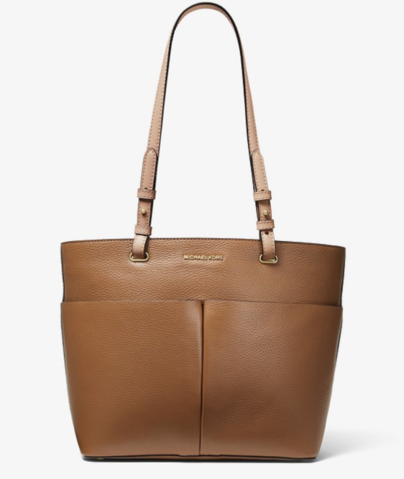 Bedford Medium Pebbled Leather Tote. (PHOTO: Michael Kors)