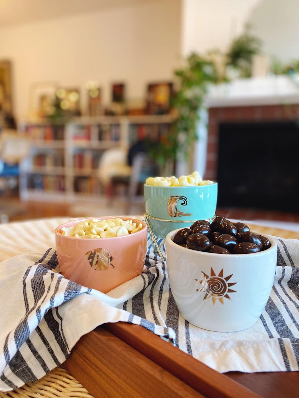 <p>The <span>Disney Princess X POPSUGAR Moana Planters</span> ($25 for three) are the perfect size for storing snacks like popcorn or candy. I love using them for hosting my book club and low-key movie nights!</p>