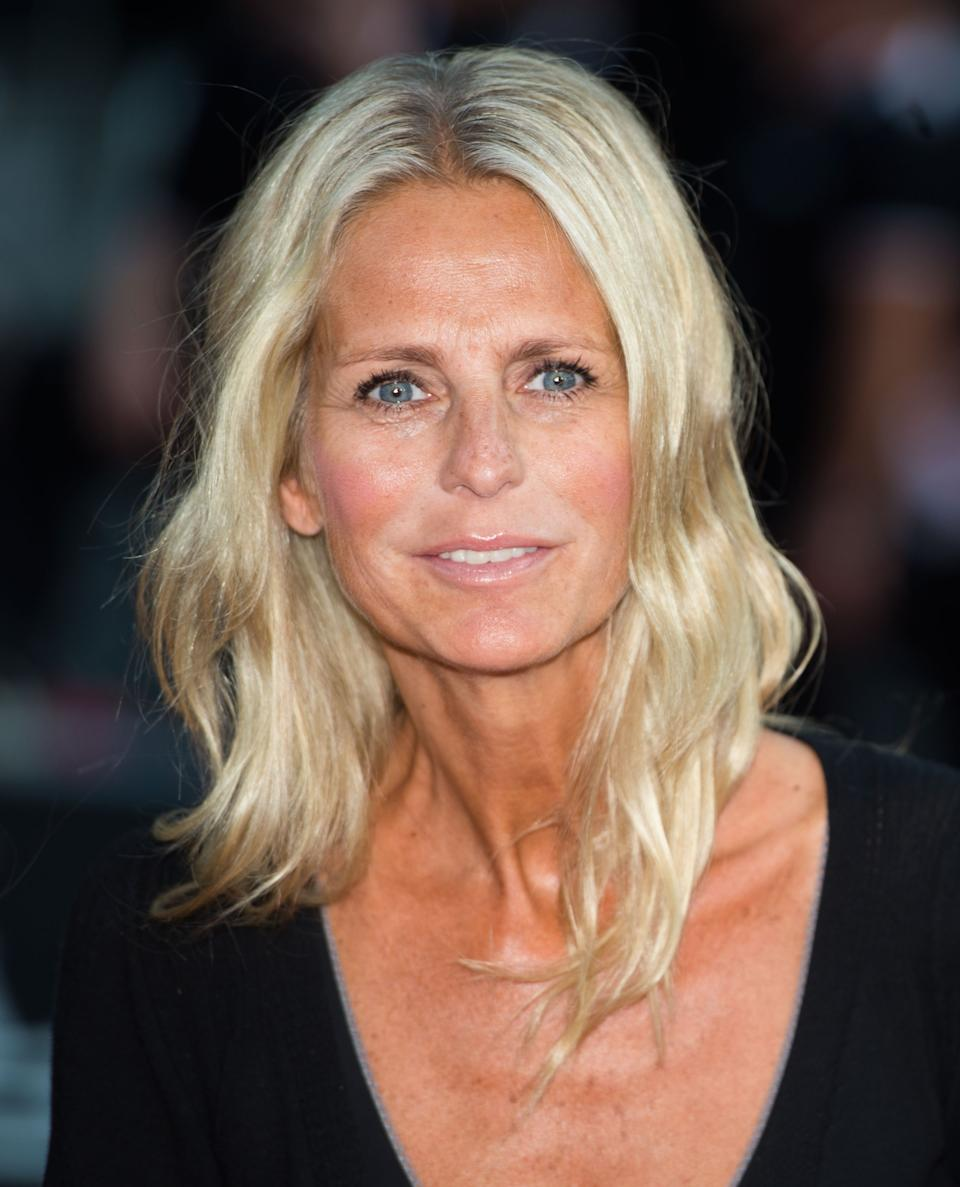 LONDON, UNITED KINGDOM - AUGUST 20:    Ulrika Jonsson attends the World Premiere of 'One Direction: This Is Us' at Empire Leicester Square on August 20, 2013 in London, England. (Photo by Samir Hussein/WireImage)