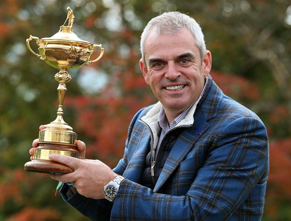 Paul McGinley led Europe to Ryder Cup glory in 2014 (Andrew Milligan/PA) (PA Archive)