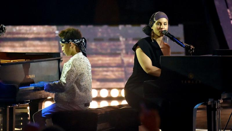 2019 iHeartRadio Music Awards: Alicia Keys and Son Egypt Steal the