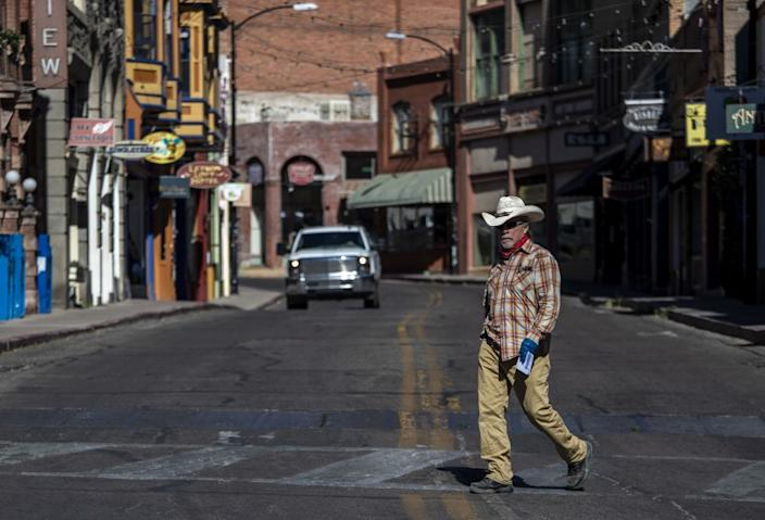 "The old mining town of Bisbee, Ariz., was once a haven for anyone searching for a new start. Today, with tourism slowing dramatically, its future is more uncertain. <span class=""copyright"">(Brian van der Brug / Los Angeles Times)</span>"
