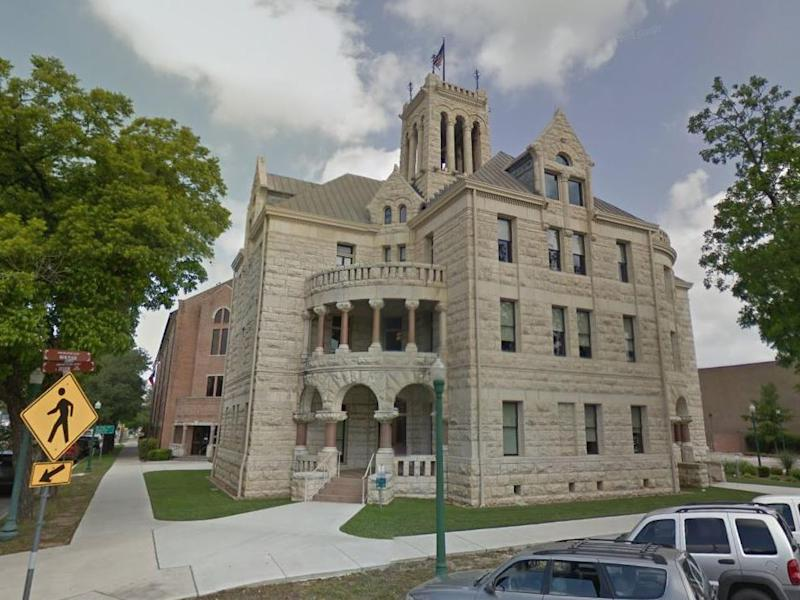 The Comal County, Texas, courthouse: Google Street View