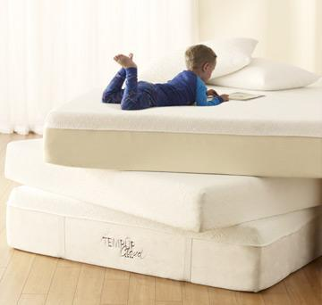 """<div class=""""caption-credit""""> Photo by: temperpedic.com</div><b>ln: Anything that isn't a water bed.</b> In fact bed technology has made serious strides (at least in terms of creativity) in recent years. From temper-pedic mattresses to sleep number selections, bed options are limitless and spill-free."""