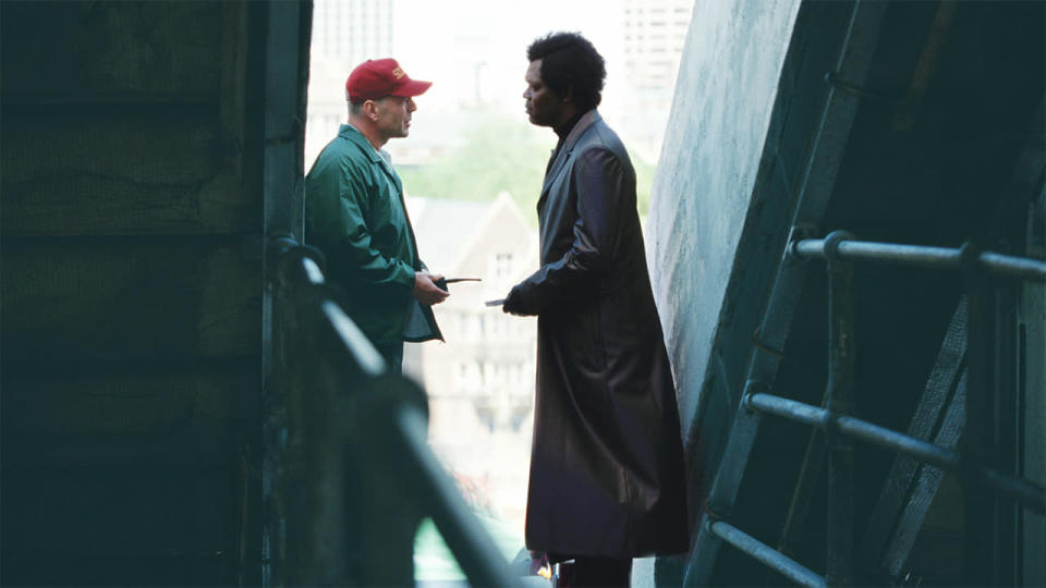 <p> A self-confessed comic book fan, director M. Night Shyamalan, master of the twist, decided not to adapt an already established superhero story and instead created something entirely original. </p> <p> Unbreakable makes for a remarkably subtle character study compared to some of the bigger-budget superhero flicks, telling the tale of security guard David Dunn (Bruce Willis) who has to come to grips with his abilities, all while dealing with the shady Elijah Price (Samuel L. Jackson). There's no spandex; no moral ranting about responsibility, just a look at what having superpowers may actually look like. </p>